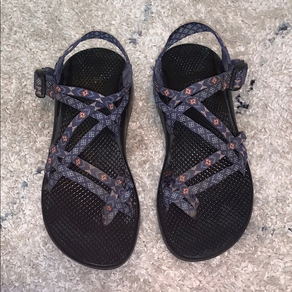 Chaco Shoes - Blue and Orange Chacos